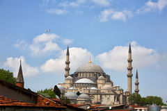 Suleymaniye Mosque in Istanbul Stock Photos