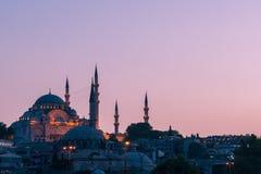 Suleymaniye Mosque Stock Photography