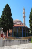 Suleymaniye Mosque or Mosque of Suleiman in Rhodes, Greece Royalty Free Stock Image