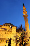 Suleymaniye Mosque night view, Istanbul, Turkey Stock Image