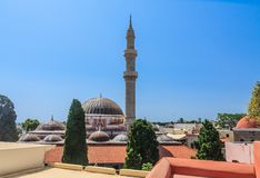 Suleymaniye Mosque. Old Town. Rhodes. Greece Royalty Free Stock Photography