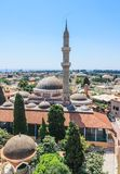 Suleymaniye Mosque. Old Town. Rhodes. Greece Royalty Free Stock Photo