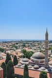Suleymaniye Mosque. Old Town. Rhodes. Greece Royalty Free Stock Photos