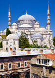 The Suleymaniye Mosque. Is an Ottoman imperial mosque of Istanbul, Turkey Royalty Free Stock Images