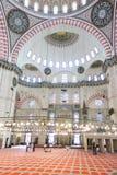 Suleymaniye Mosque (Suleymaniye Camisi) in Istanbul, Turkey Royalty Free Stock Photography