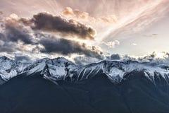 Sulfer Mountain Views Royalty Free Stock Photos