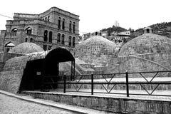 Sulfur Baths, Tbilisi. Exterior of the Sulfur Baths in Tbilisi, Georgia stock photos