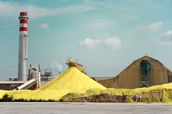 Sulfur Factory Stock Photography