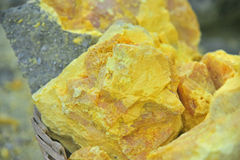 Sulfur Royalty Free Stock Image