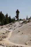 Sulfur landscape Stock Images