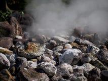 Sulfur Spring. In Beppu, Japan Stock Images