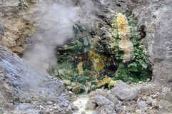 Sulfur Spring Royalty Free Stock Photography