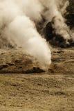 Sulfur spring near solfatara Stock Photo