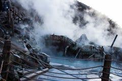 Sulfur springs Royalty Free Stock Image