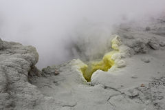 Sulfur vents. Royalty Free Stock Photography