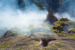Sulfur vents fumes Stock Photography