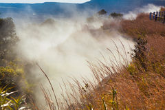 Sulfur vents Royalty Free Stock Images