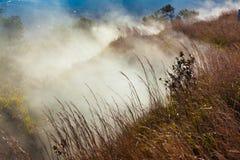 Sulfur vents Stock Photo