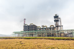Sulfuric acid factory Royalty Free Stock Photography