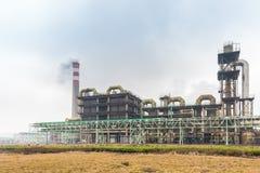 Sulfuric acid plant Stock Photos