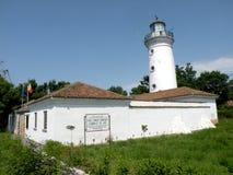Sulina old lighthouse in Danube Delta, Tulcea, Romania Stock Photos