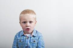 Sulking child Stock Photography