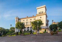 Sulkowski-Schloss in Bielsko-Biala, Polen stockbilder