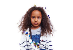 Sulky girl Royalty Free Stock Image