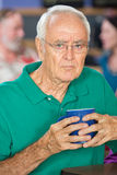 Sulky Older Man Stock Images