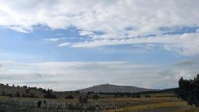 Sull'alto plateau di Ai-Pétri Fotografie Stock