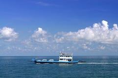 Sull'oceano Fotografie Stock