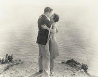 Sull'orlo di romance Fotografia Stock Libera da Diritti