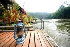 Sulla Banca del fiume Kwai Immagine Stock Libera da Diritti