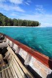 Sulla barca Fotografie Stock Libere da Diritti