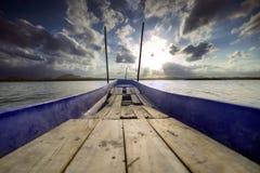 Sulla barca Immagini Stock Libere da Diritti