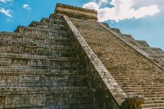 Sulla base di una piramide Fotografie Stock