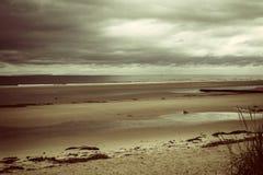 Sulla costa scozzese Fotografie Stock Libere da Diritti