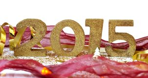 2015 sulla decorazione festiva Immagini Stock Libere da Diritti
