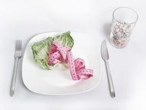 Sulla dieta dura Fotografia Stock Libera da Diritti