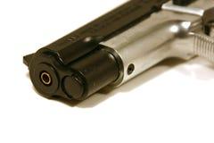 Sulla fine su una pistola Immagini Stock