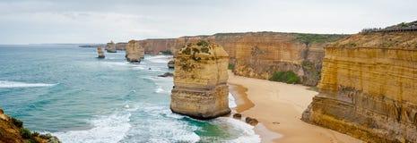 Sulla grande strada dell'oceano - Australia Fotografia Stock