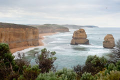 Sulla grande strada dell'oceano - Australia Immagini Stock Libere da Diritti