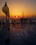 Sulla nave Fotografie Stock