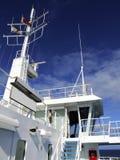 Sulla nave Immagine Stock