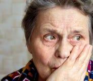 Sulla pensione Fotografia Stock
