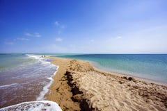 Sulla riva di mare Fotografia Stock