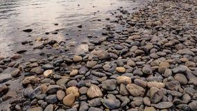 Sulla roccia Fotografia Stock