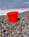 Sulla spiaggia. Immagine Stock