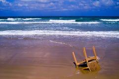 Sulla spiaggia dell'Israele Fotografie Stock