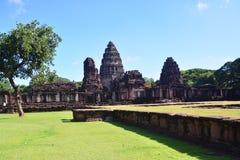 Sulla strada a Angkor: Tempio di Phimai - Tailandia Immagine Stock Libera da Diritti